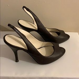 Brown Le Chateau Heels